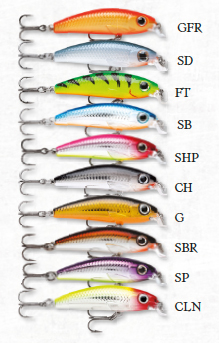 Rapala Ultra Light Minnow 6cm 4g - Vaaput - 022677194011 - 1