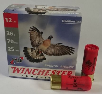 Winchester 12/70 36g Special Pigeon - Lyijypatruunat - 0699900002964 - 1